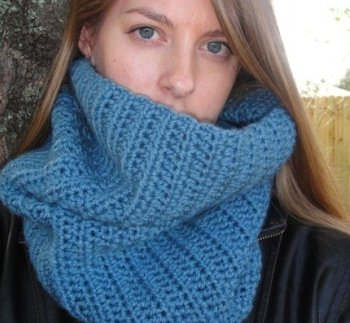 Free Crochet Pattern Dog Snood : Crocheted Couture by Michele Products